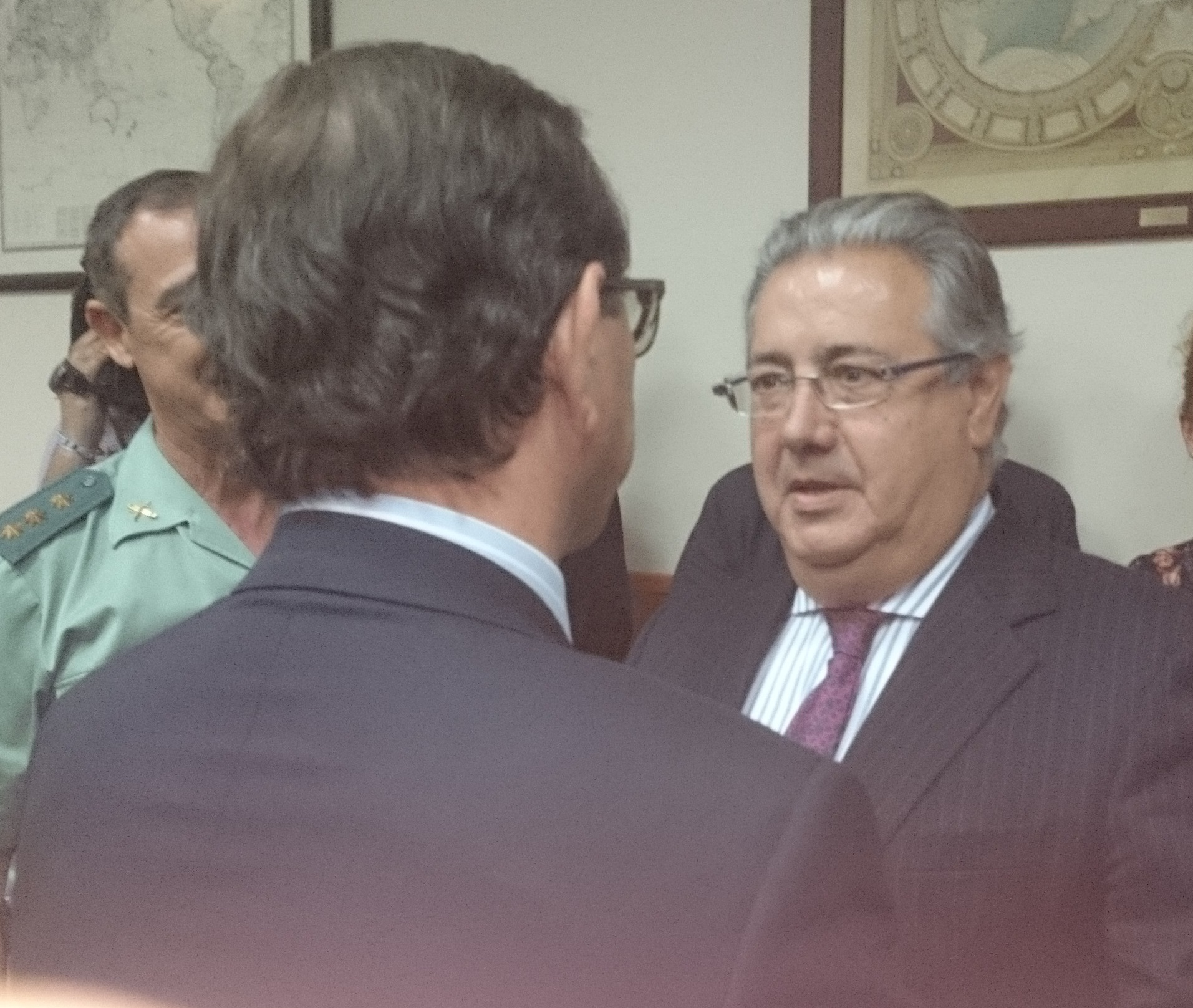 Visita Ministro Interior Juan Iznacio Zoido 15-05-2018