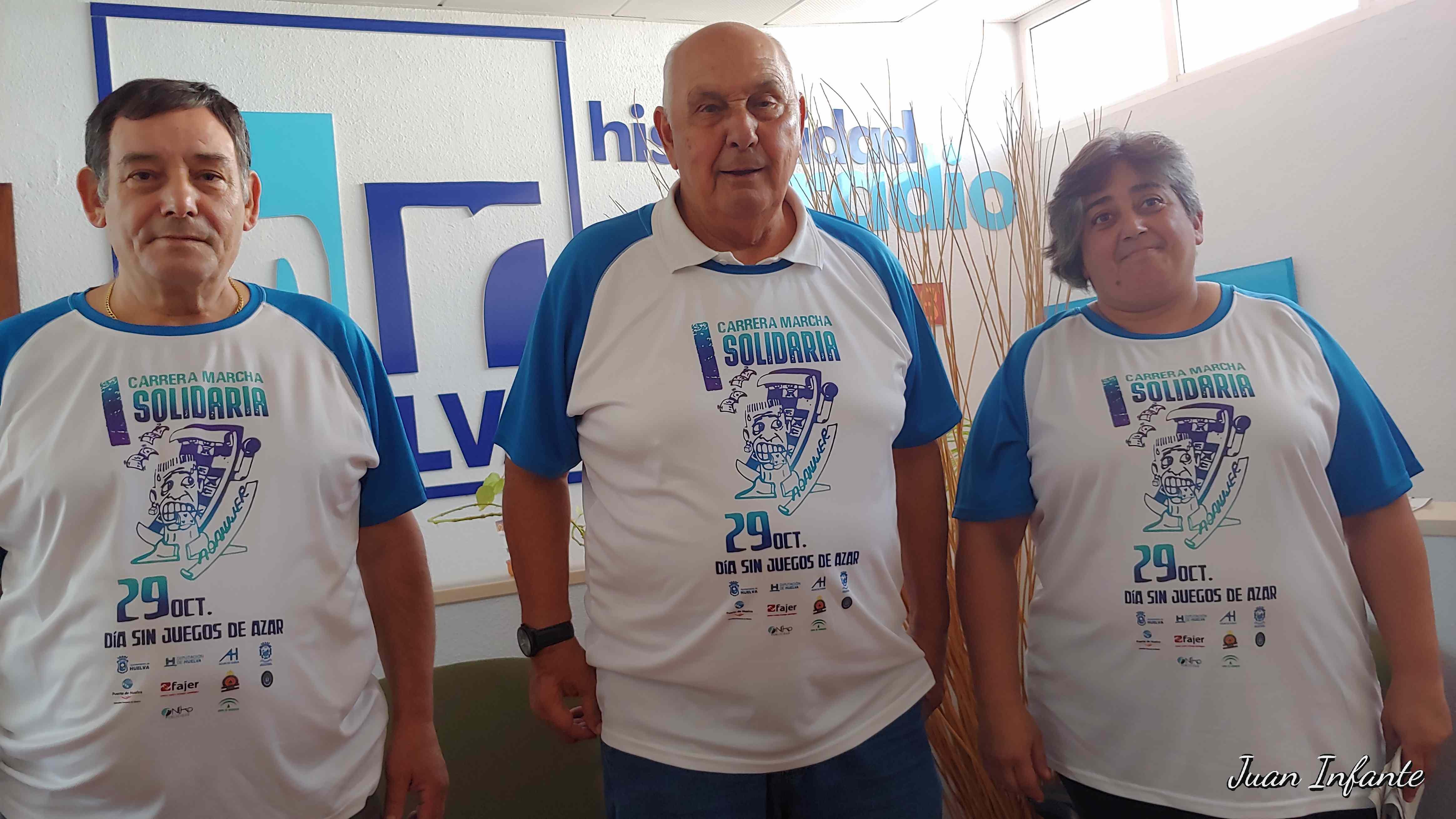 Queremos Saber 24-10-2018 Aonujer, Jorge Barroso, han presentado esta mañana la I Carrera Marcha Solidaria Día Sin Juegos de Azar