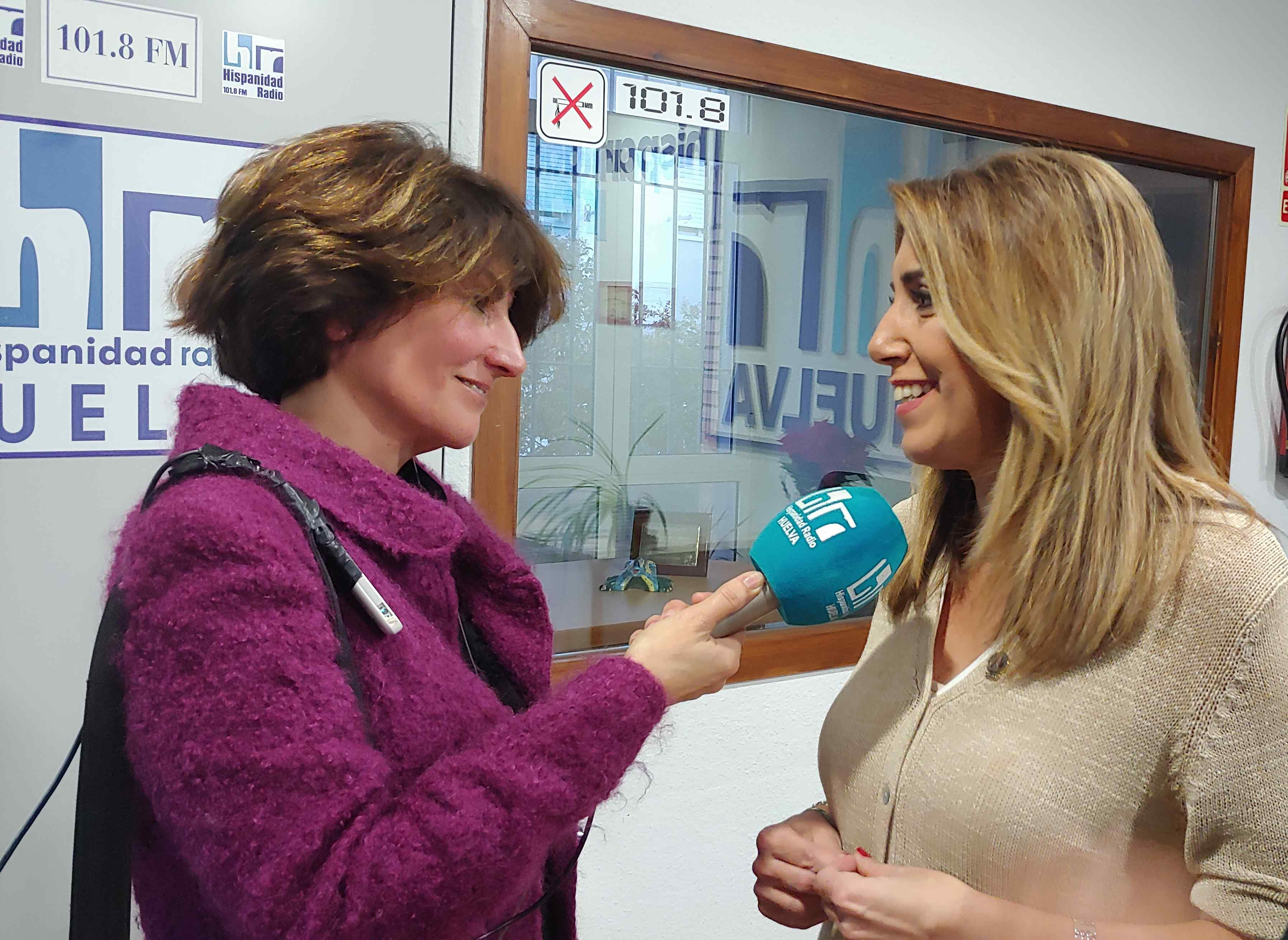 Susana Díaz en Hispanidad Radio 20-11-2018