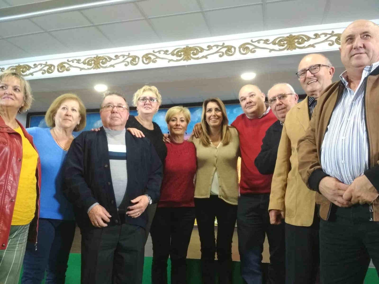 Susana Díaz-Visita barriada Hispanidad 20-11-2018