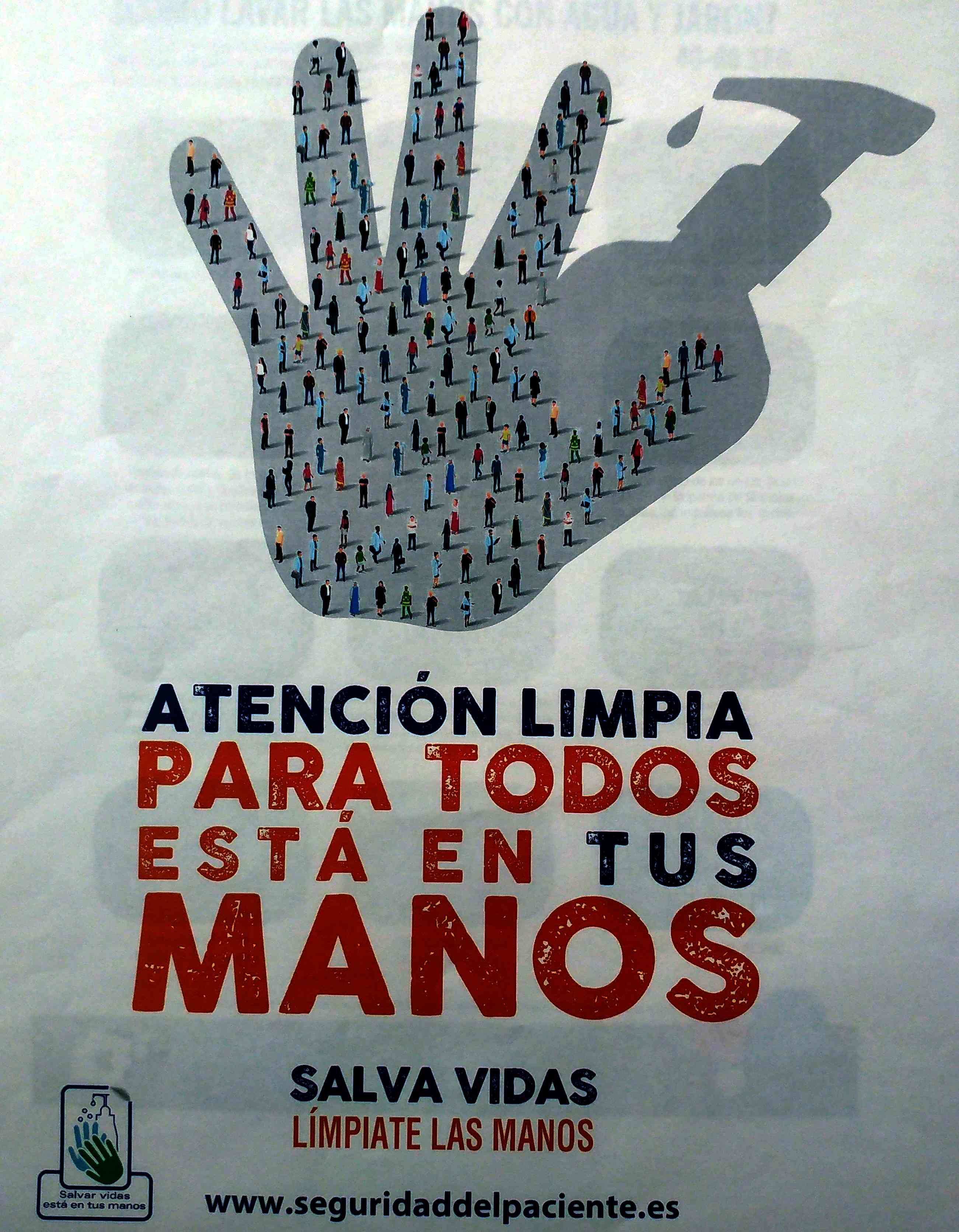 Queremos Saber 02-05-2019 Centro de Salud- D. Jesús Pardo día Internacional limpieza de las manos