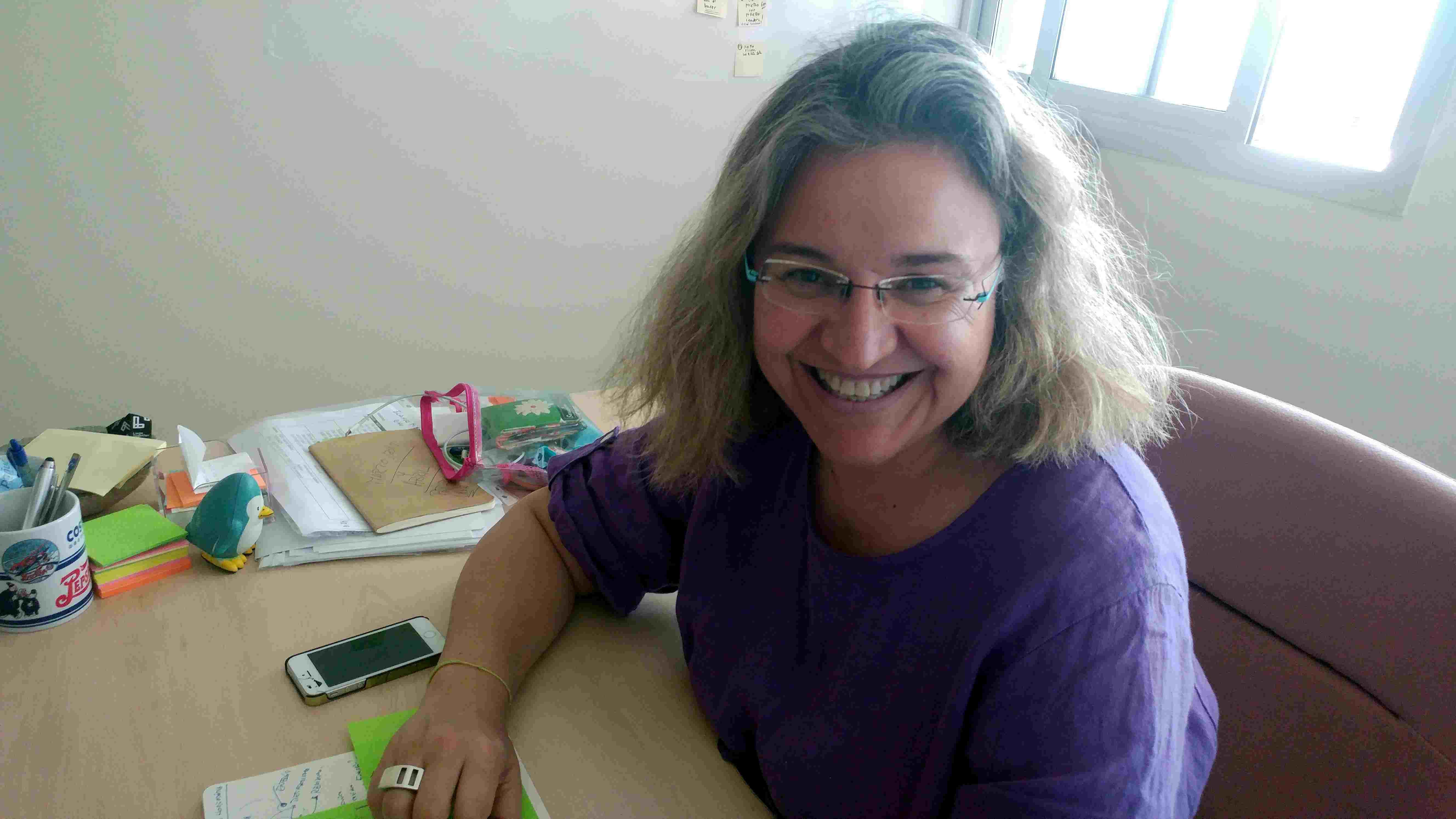 Queremos Saber 07-05-2019 Blanca Miedes, Doctora en economía aplicada de la UHU y Subdirectora en C3IT de Huelva