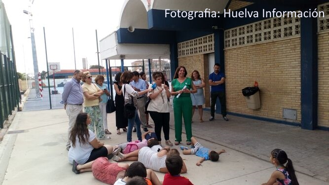 Queremos Saber- Inauguración Escuela de Verano- delegada territorial de Educación, Deporte, Igualdad, Políticas Sociales y Conciliación