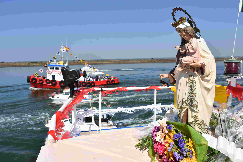 Procesión Virgen del Carmen de Huelva 16-07-2019