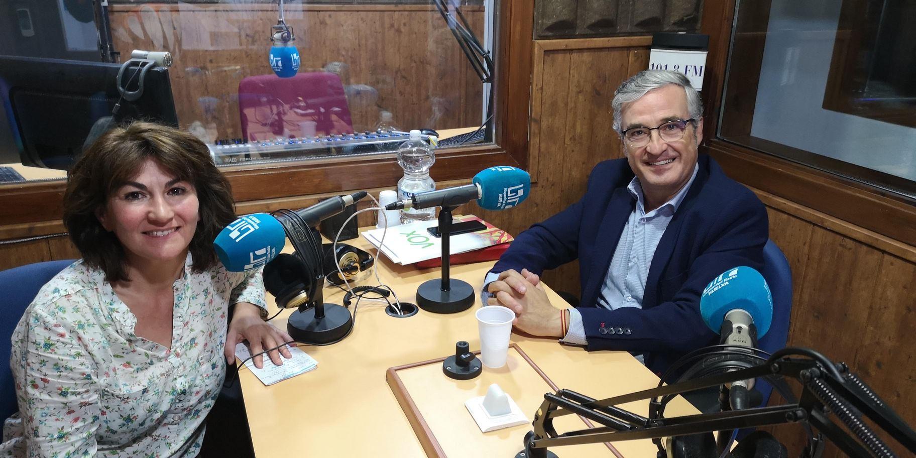 Queremos Saber 04-11-2019 Andres Aragón Candidato al Senado por Huelva de VOX