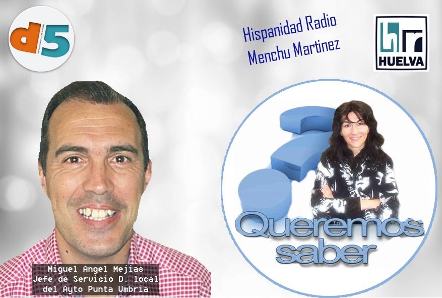 Queremos Saber 29-06-2020 Miguel Ángel Mejías, Jefe de servicio desarrolo Local del Ayuntamiento de Punta Umbría