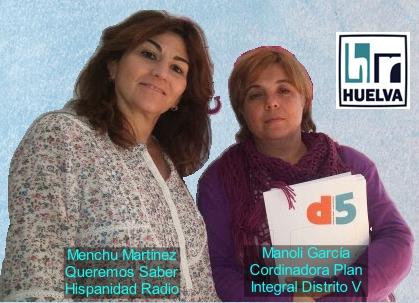 Queremos Saber 30-06-2020 Manoli García, Coordinadora del Plan Integral del Distrito V