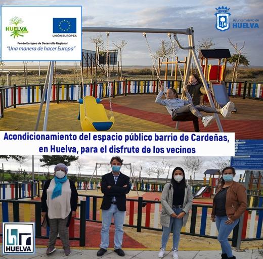 Queremos Saber 11-12-2020 El acondicionamiento de un espacio público equipado en Cardeñas, parque infantil, circuito biosaludable y zonas de estancia.