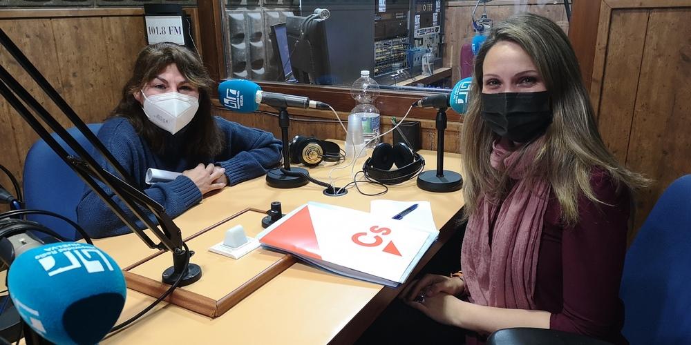 Queremos Saber 10-02-2021 Senadora andaluza, Coordinadora y Portavoz provincial de Cs Huelva