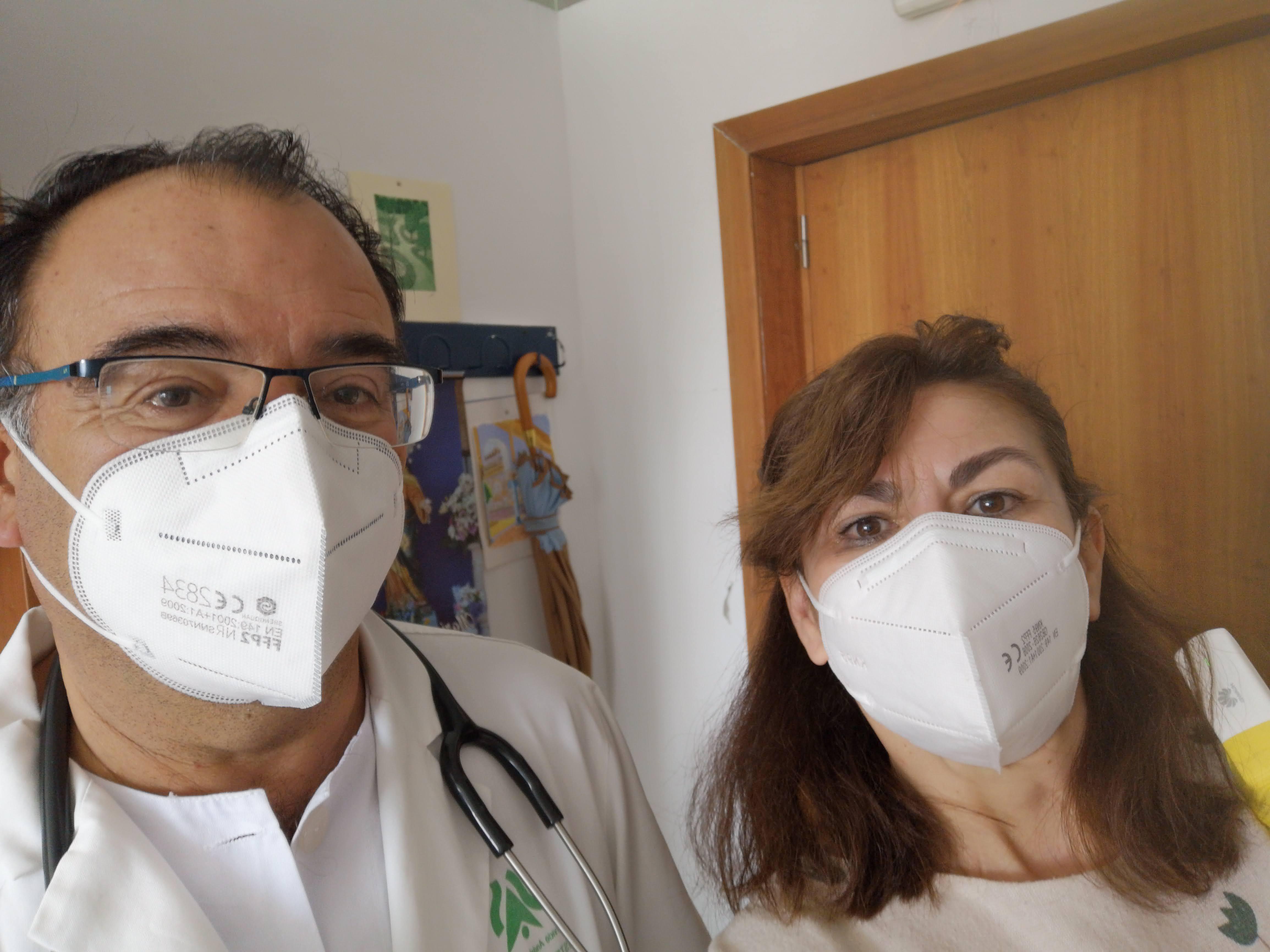 Queremos Saber 19-02-2021 Centro de Salud de El Torrejón, Director, Jesús Pardo
