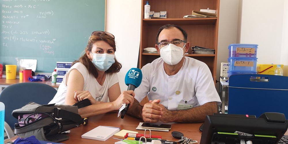 Queremos Saber 28-07-2021 Director Centro de Salud del Torrejón-Jesús Pardo
