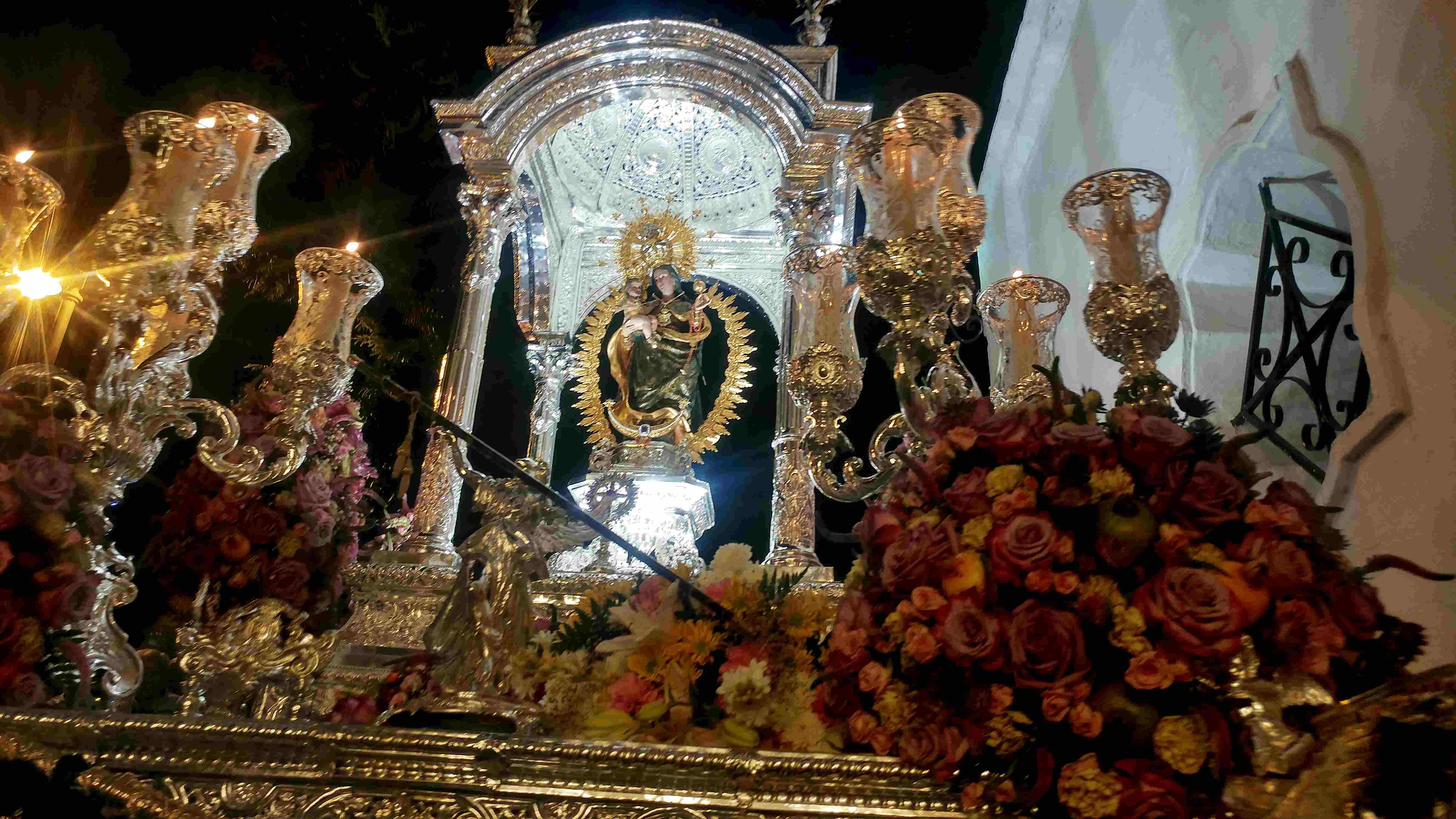 Bajada Virgen de la Cinta 19-08-2018