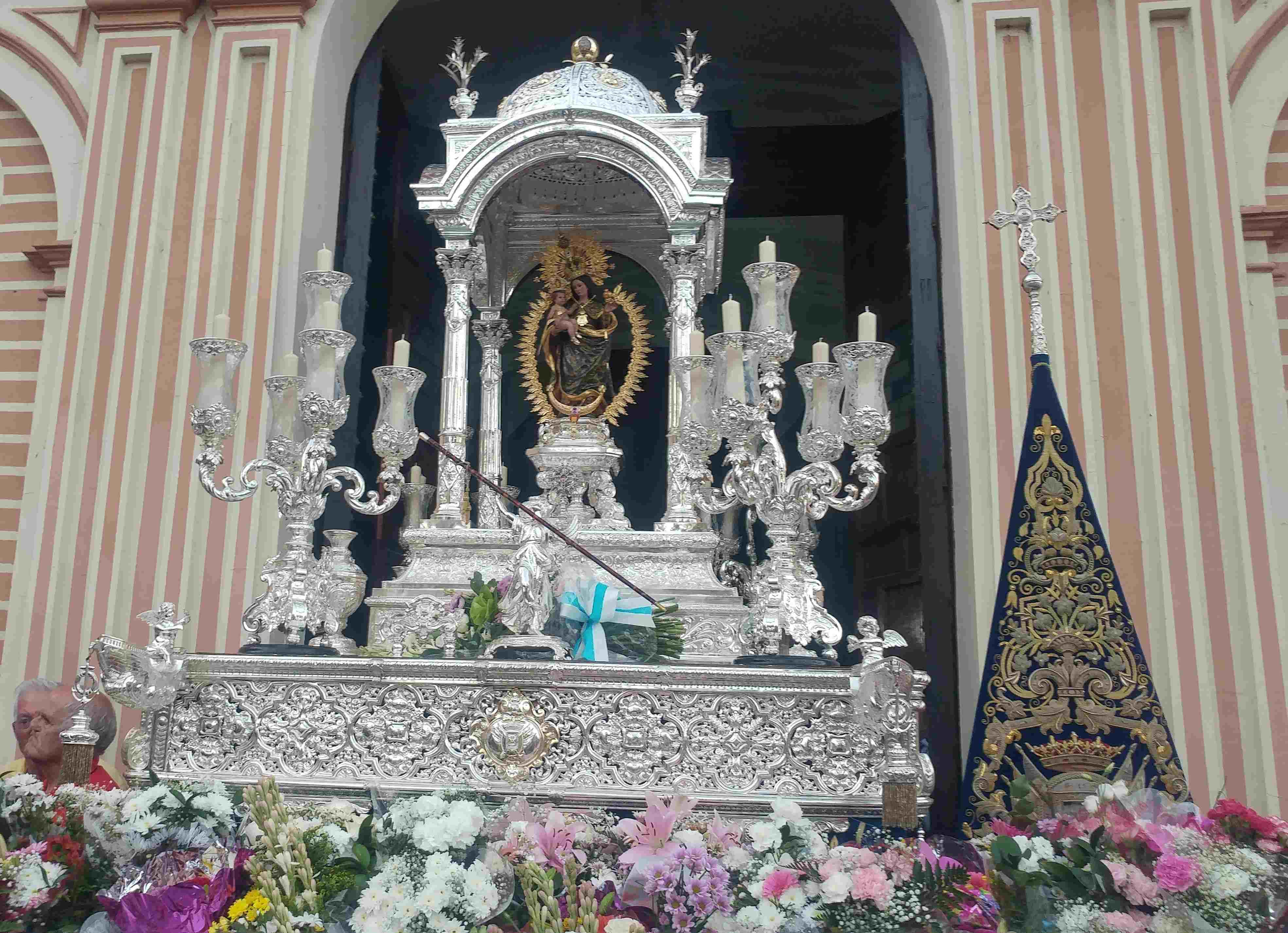 Ofrenda Floral Virgen de la Cinta 2018