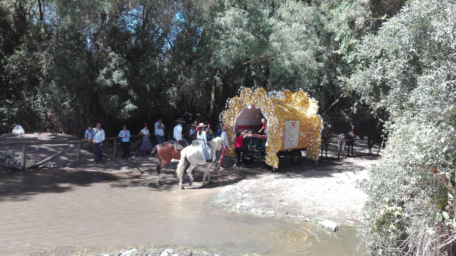 Regreso Hermandades del Rocío de Huelva 12-06-2019