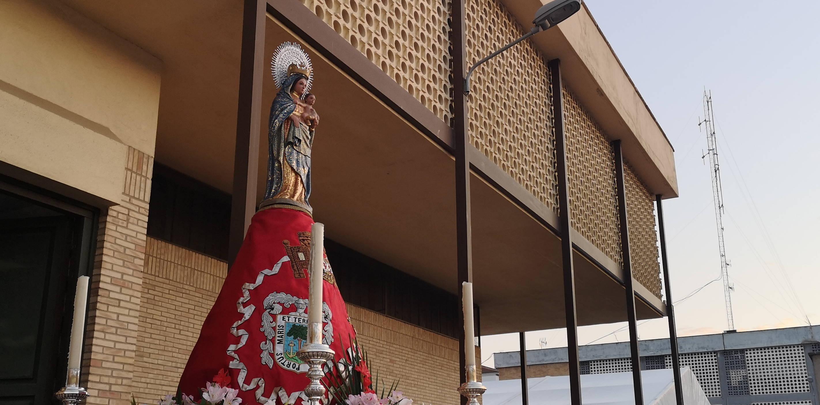 Procesión Virgen del Pilar 13-10-2019