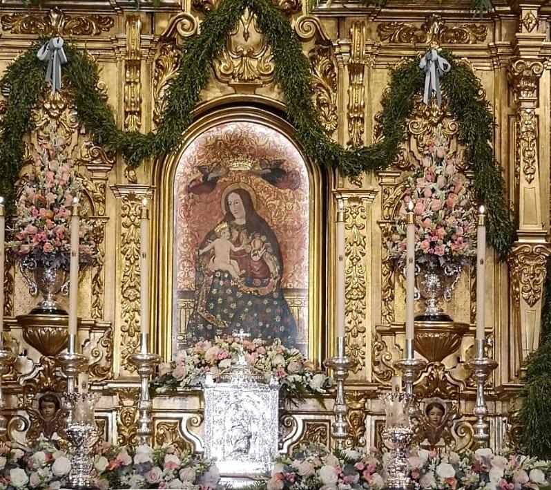 Ofrenda Floral Virgen de la Cinta  07-09-2020