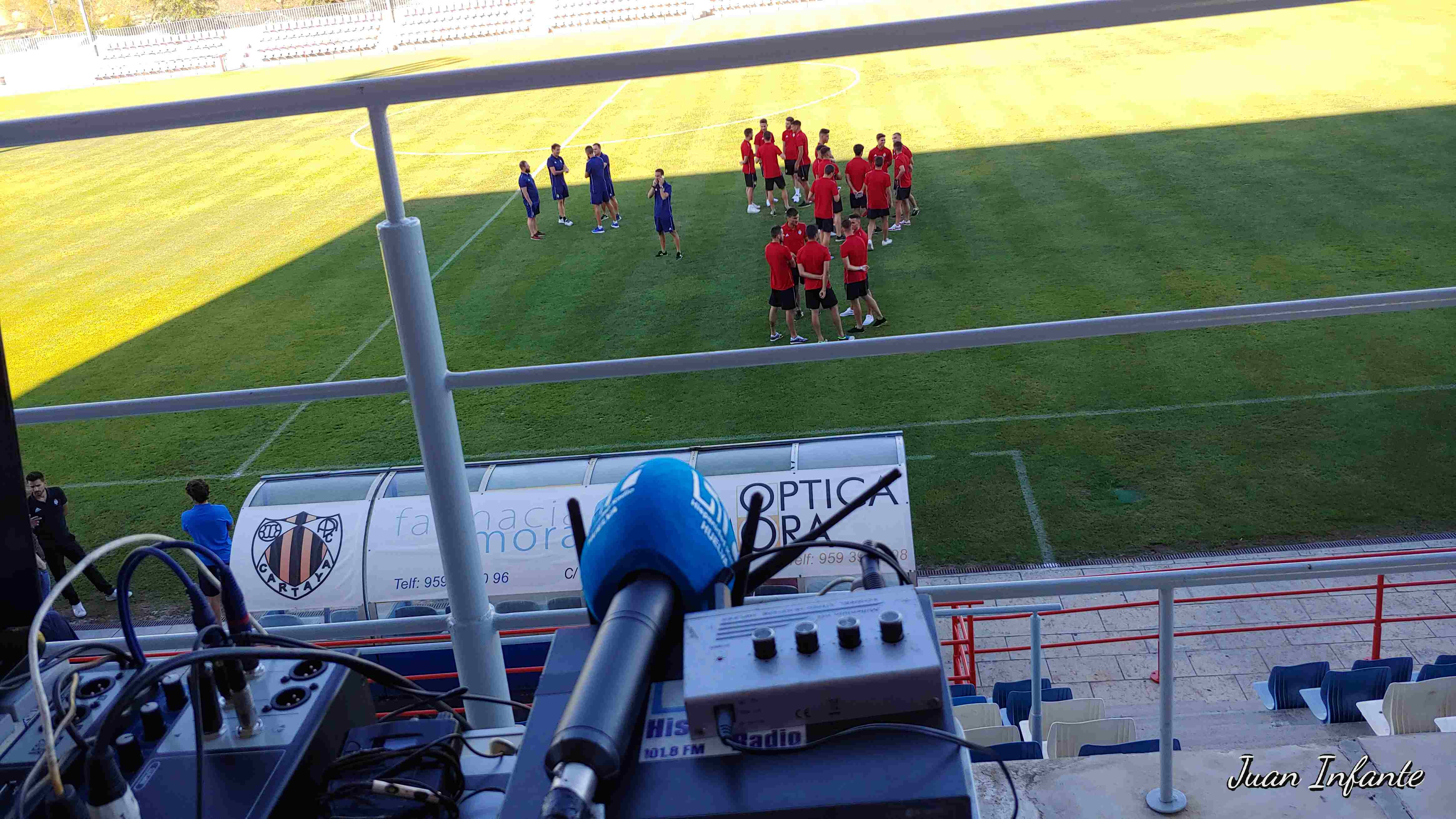 AD Cartaya-Recreativo de Huelva- Pretemporada 0 a 4