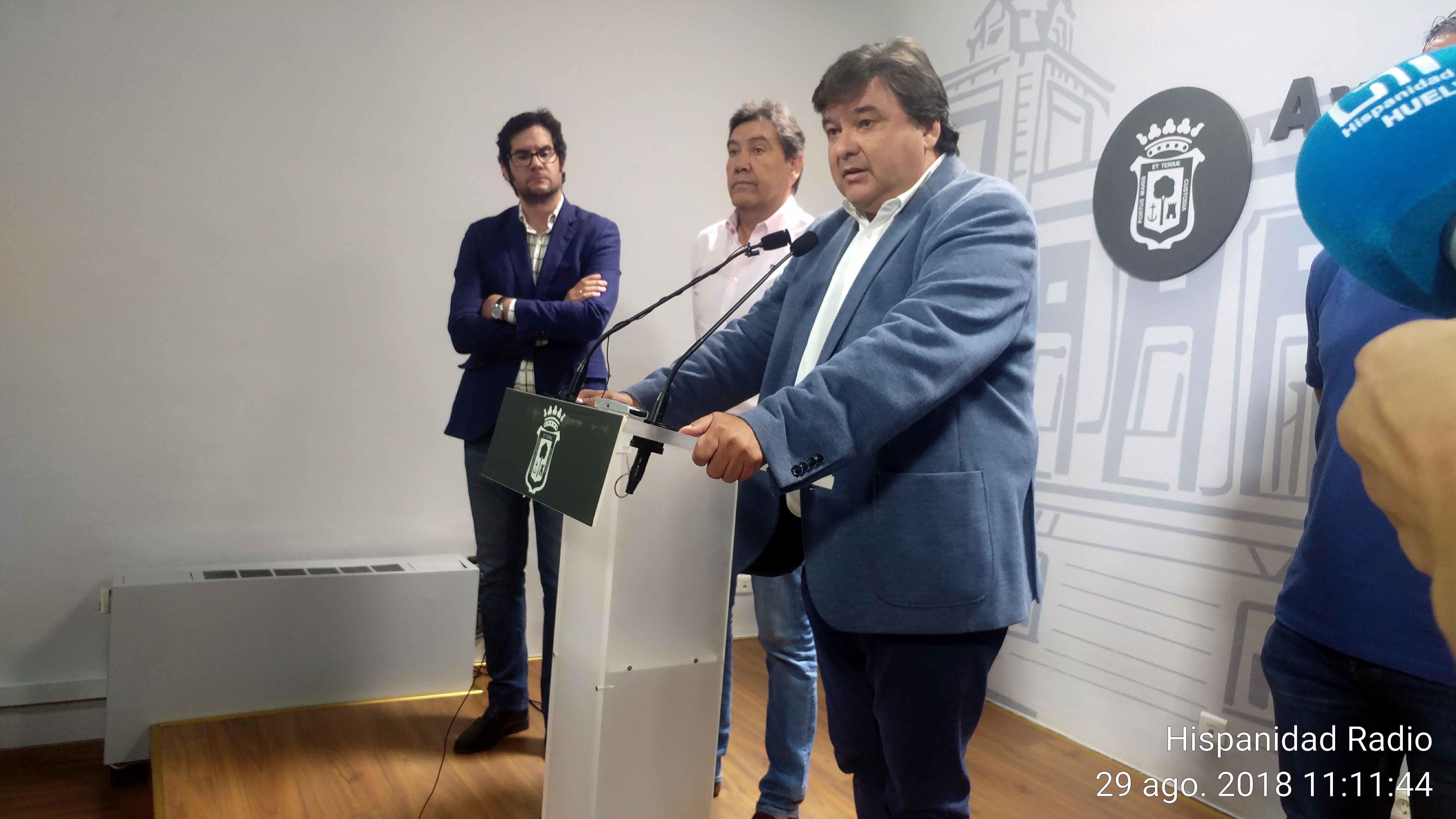Rueda de Prensa-actualidad del Recreativo-Alcalde de Huelva