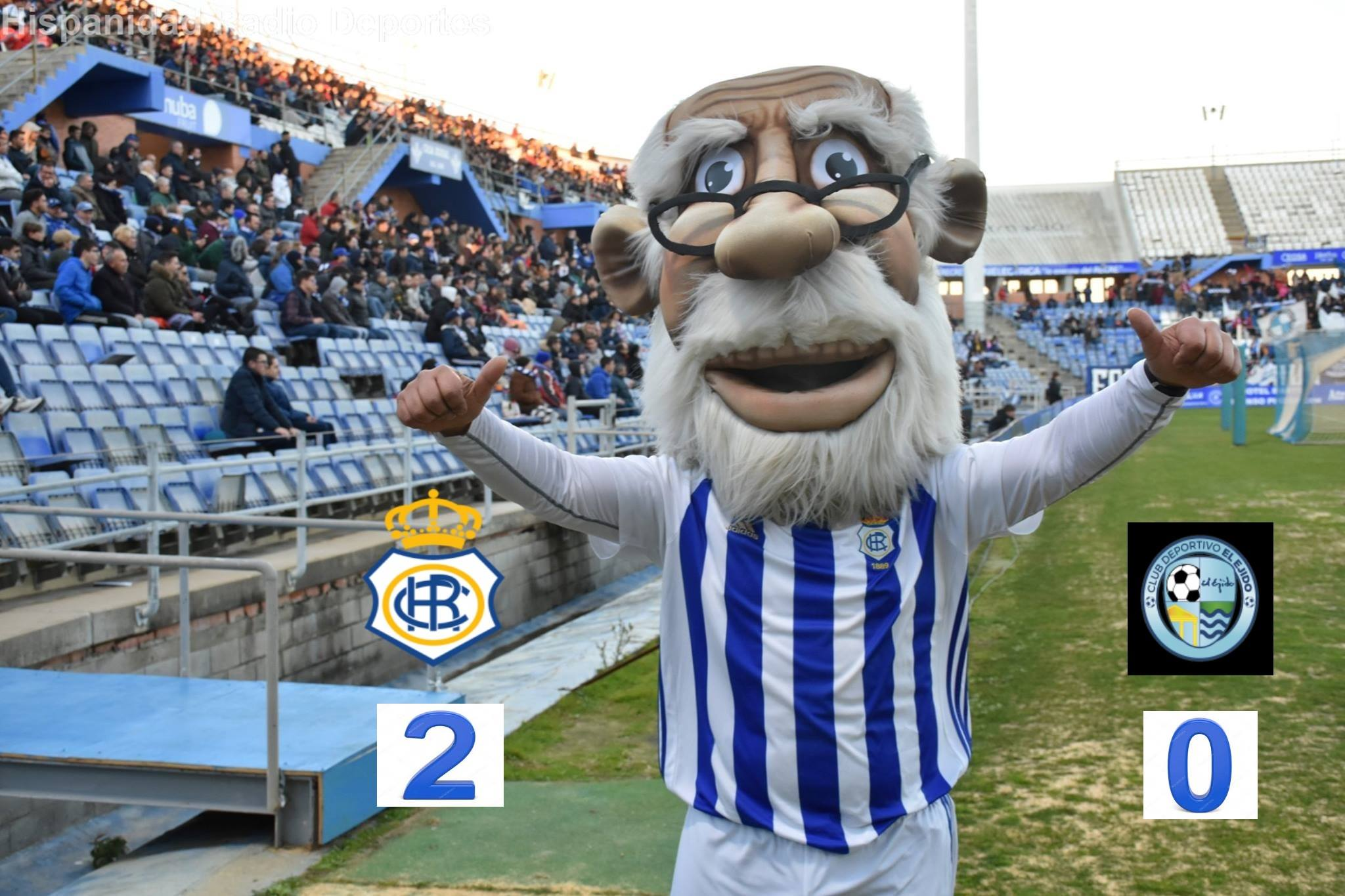 Recreativo de Huelva-C.D. El Ejido 03-03-2019