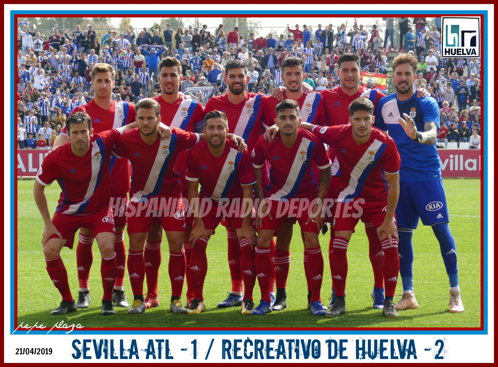 Sevilla Atl-Recreativo de Huelva 21-04-2019