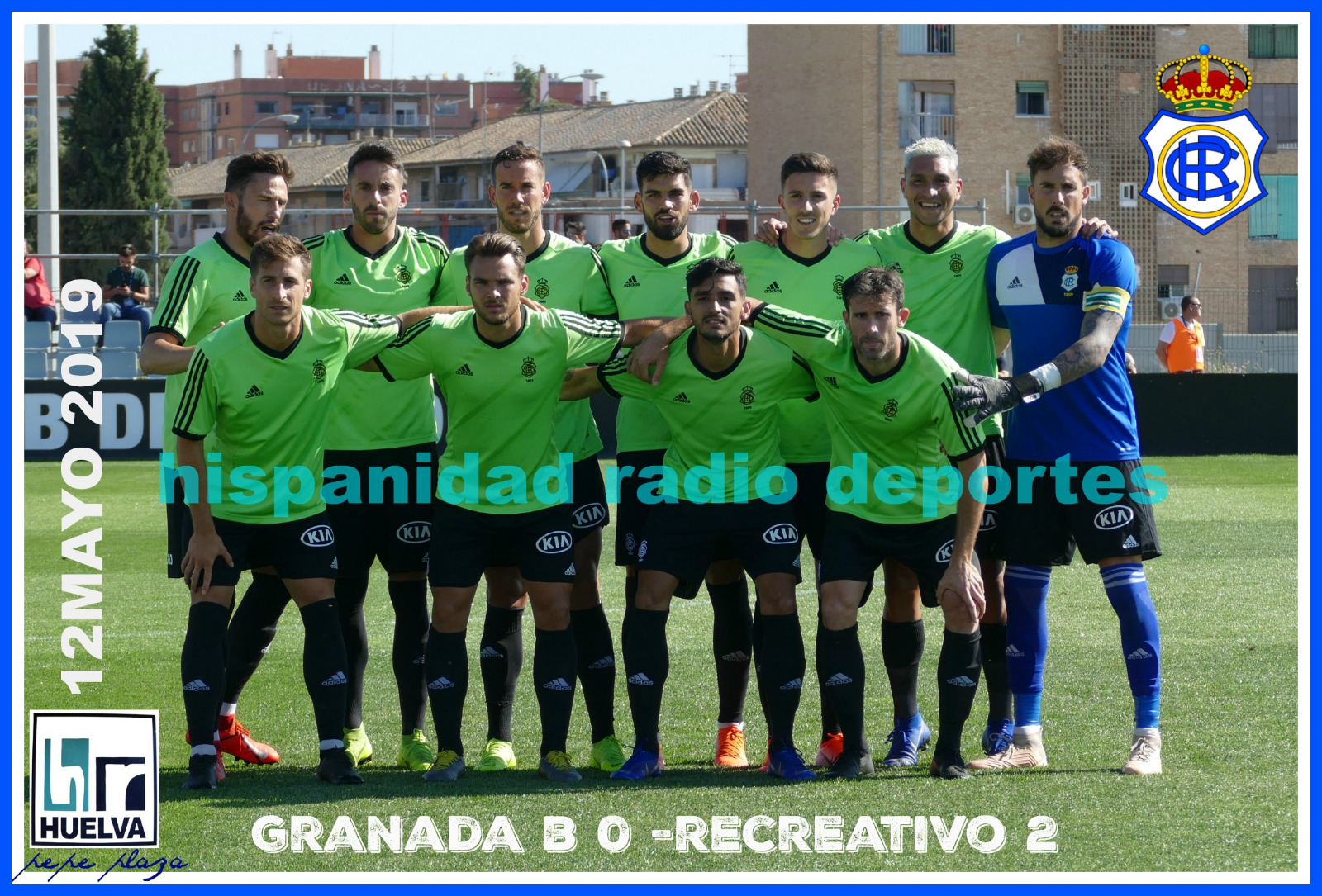 Granada B-Recreativo de Huelva 12-05-2019