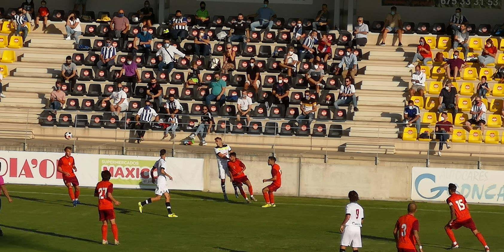U.D. San Roque- Real Club Recreativo de Huelva - Trofeo Virgen de la Bella 26-09-2020