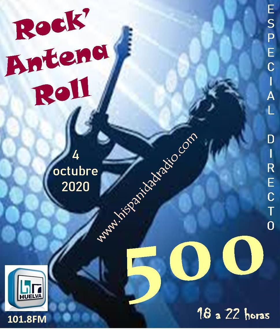 ROCK'ANTENA ROLL #500 04-10-2020