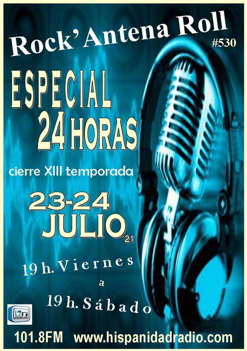 Rock Antena Roll Maratón 24 horas 23-24-julio 2021