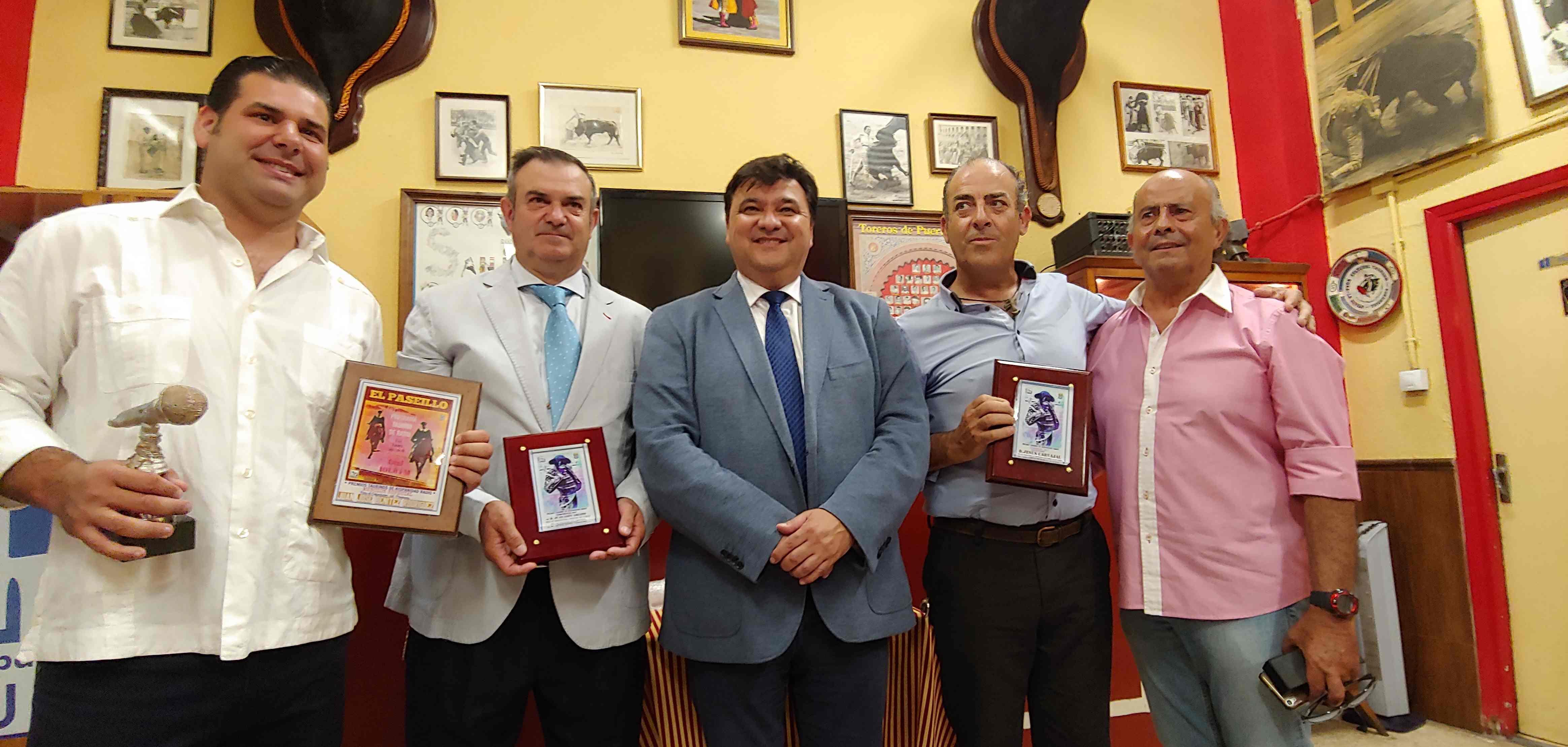 premio taurinos el paseillo 25-07-2018