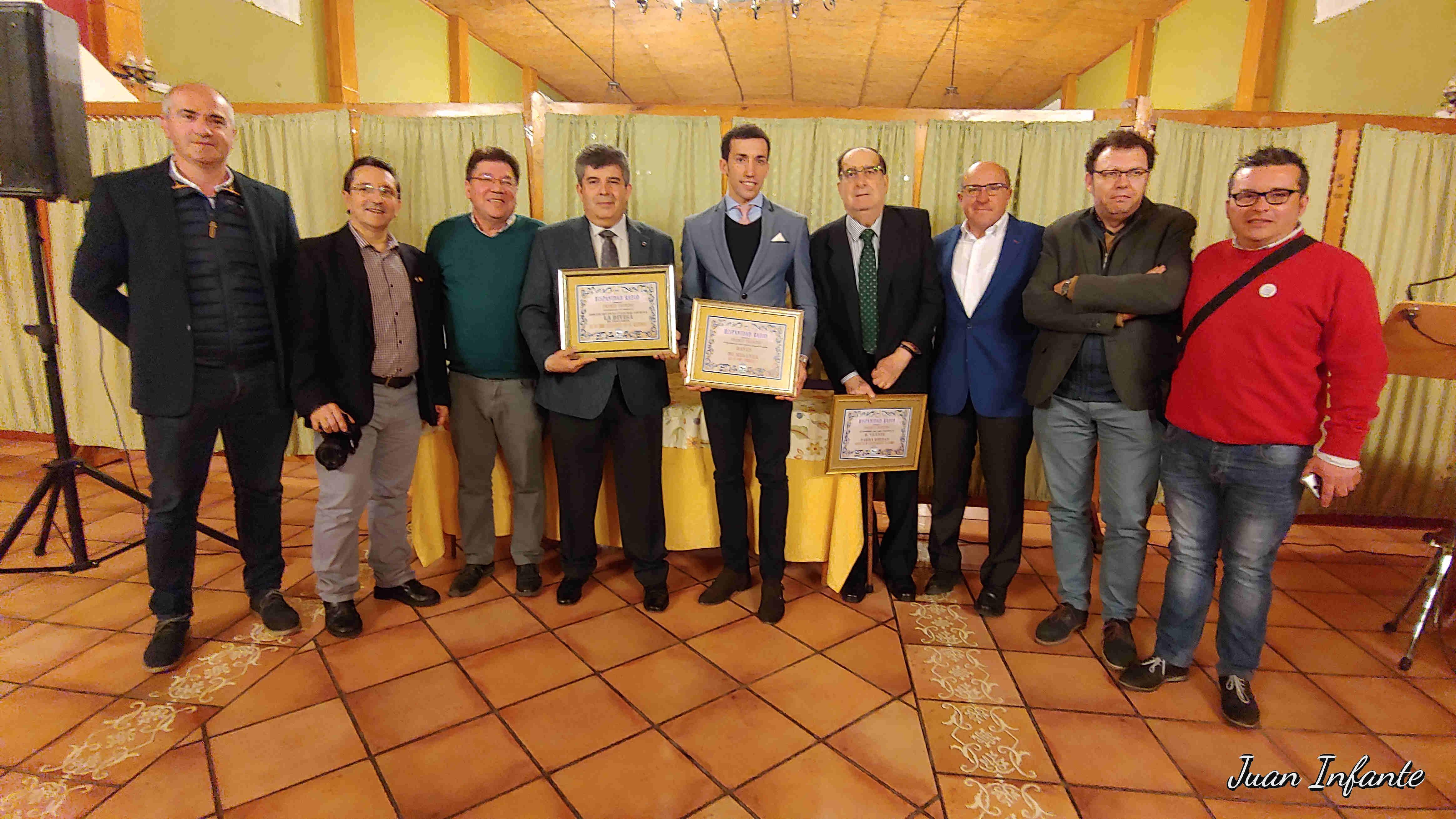 Entrega premios El Paseillo 2019 08-02-2019