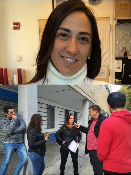 Carmen Inda cientifica en Nueva York en La Caverna